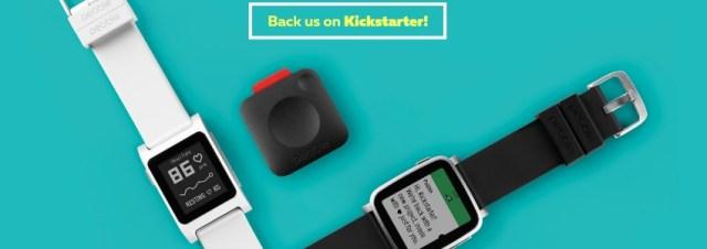 Pebble cartonne de nouveau sur Kickstarter en lançant 3 nouveaux produits !