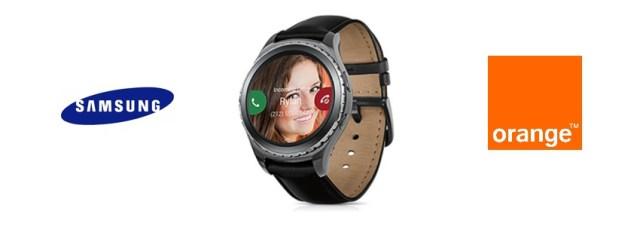Orange propose la montre connectée Samsung Gear S2 Classic 3G