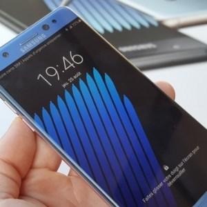 Samsung Galaxy Note7 : (ré)ouverture des ventes fin septembre?