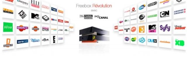 Free dévoile un Forfait Freebox Révolution avec TV by CANAL Panorama