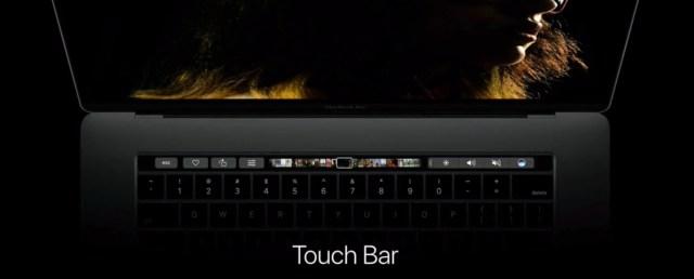 La Touch Bar du MacBook Pro n'est qu'un début