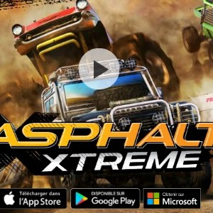 Faites du hors piste avec le jeu Asphalt Xtreme !