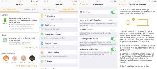Samsung Gear : les applications iOS pour les Gear S2, Gear S3 et Gear Fit2 sont enfin disponibles !