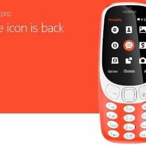 #MWC2017 - Nokia annonce le retour du Nokia 3310