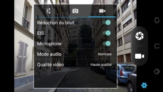 Test du smartphone Echo Moon