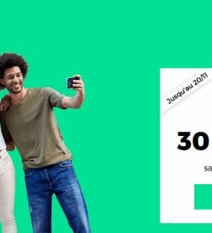 RED by SFR propose un forfait 30 Go à 30 € par mois