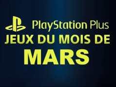 Playstation Plus : les jeux offerts du mois de mars 2018