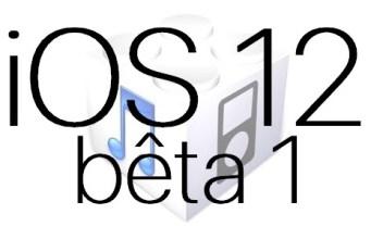 L'iOS 12 bêta 1 est disponible pour les développeurs
