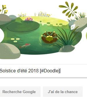 Google célèbre le Solstice d'été 2018 [#Doodle]