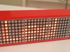 Smart Led Messenger : un boitier connecté pour afficher tous vos messages