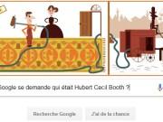 Google se demande qui était Hubert Cecil Booth qui fête son 147ème anniversaire ?