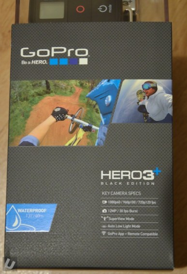 Unsponsored-gopro hero3+