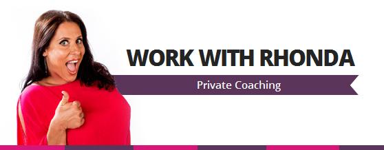 speak - private coaching - rhonda swan