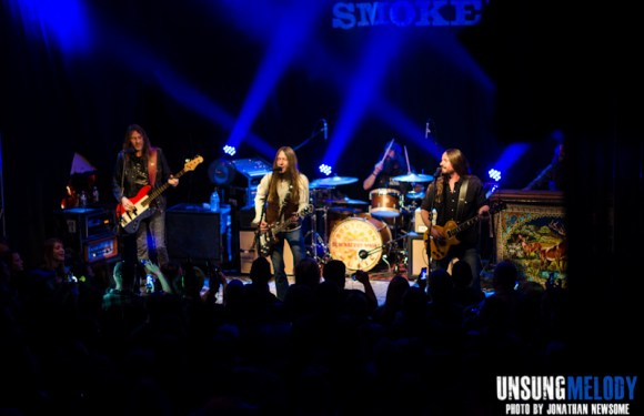 Live and loud. Blackberry Smoke with Drake White at Headliner's in Louisville, KY.