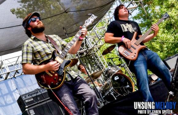 The Wheeler Brothers at The Hootenanny Festival in Silverado Canyon, CA