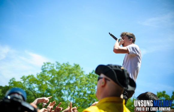 We Came As Romans at the Vans Warped Tour in Holmdel, NJ