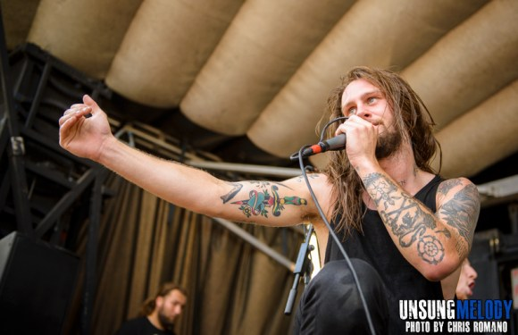 While She Sleeps at the Vans Warped Tour in Holmdel, NJ