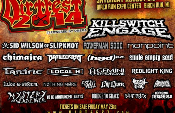 Killswitch Engage to Headline Dirt Fest 2014