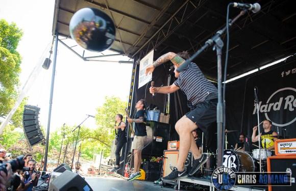 Vans Warped Tour 2014: Beartooth at the Vans Warped Tour in Holmdel, NJ