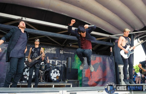 A concert photo gallery from Vans Warped Tour 2014: Crown The Empire at the Vans Warped Tour in Camden, NJ