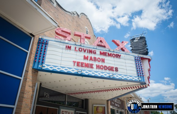 On the Road. The Stax Records Museum in Memphis, TN