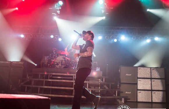 Shinedown at the Colorado Springs City Auditorium