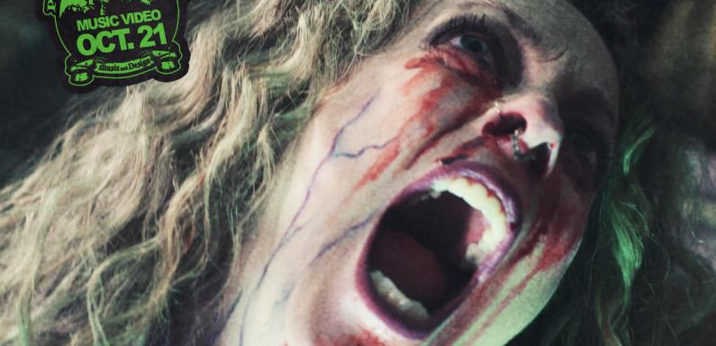 "THREE THIRTEEN Release Horror Themed Music Video For ""Brain Damage (Undead)"""