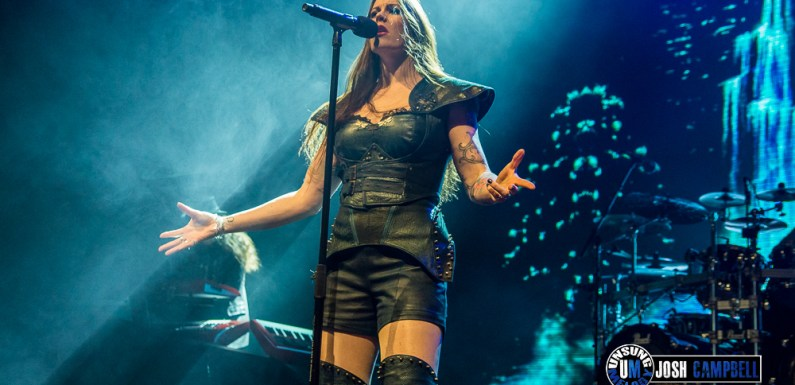 Nightwish at the Paramount Theater, Denver, CO – April 3rd, 2018