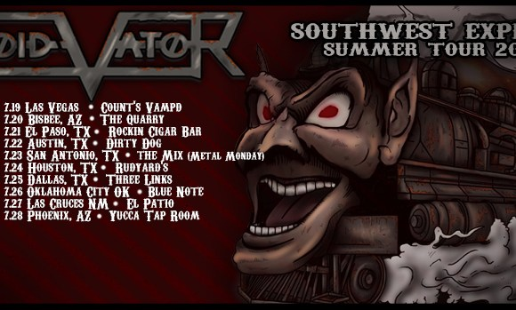"VOID VATOR Release Official Music Video for ""UNTIL IT'S GONE"" & Announce SOUTHWEST EXPRESS SUMMER 2018 TOUR"