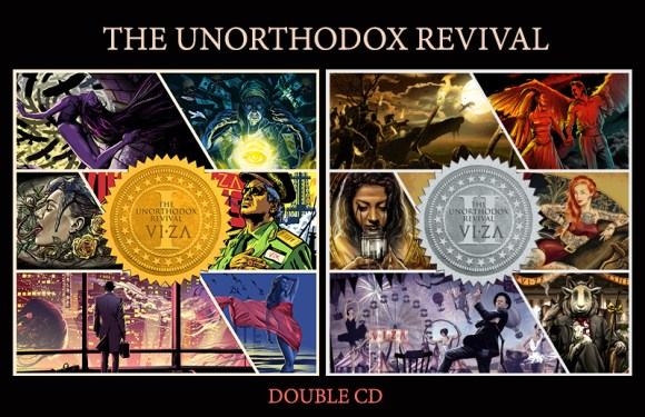 VIZA Releases Highly Anticipated Double CD Set for 'The Unorthodox Revival: Vol. I & II'