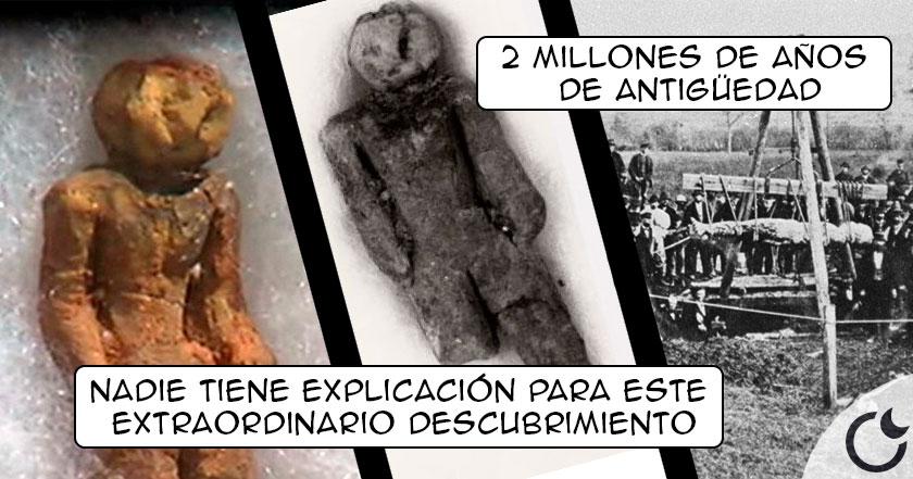 Resultado de imagen de Una figura de 2 MILLONES DE AÑOS REVIENTA la teoría de la evolución: La figura de Nampa