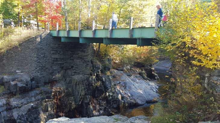 Coos Canyon bridge.