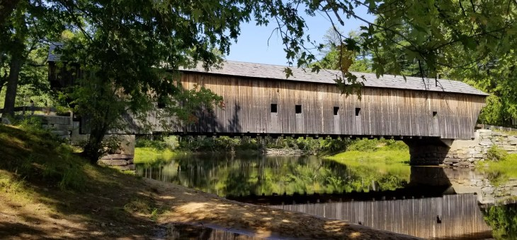 Maine Roadtrip Challenge: See 6 Beautiful Covered Bridges in one Day