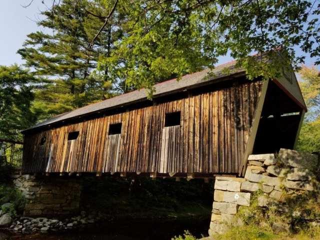 Maine Lovejoy Covered Bridge