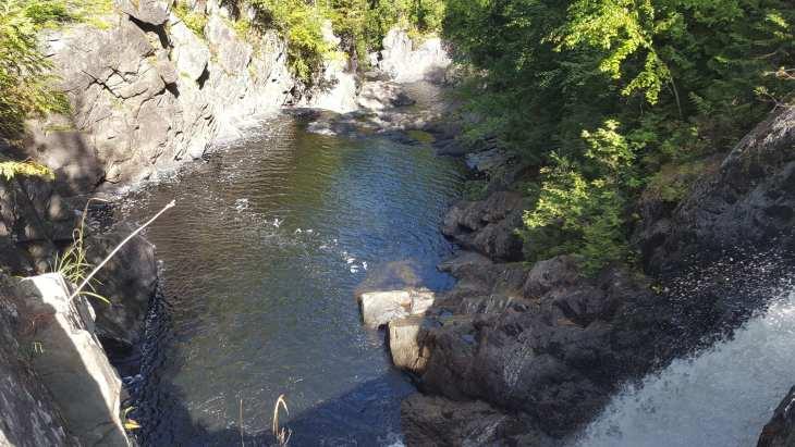 Moxie Falls pool.