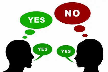 Learning the art of saying 'NO' is essential for a people-pleaser