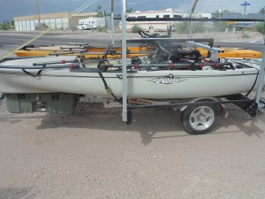 Pro Anglers on trailer
