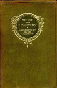 Sense and Sensibility, copertina di H. Thomson