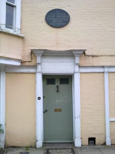 Winchester, Jane Austen