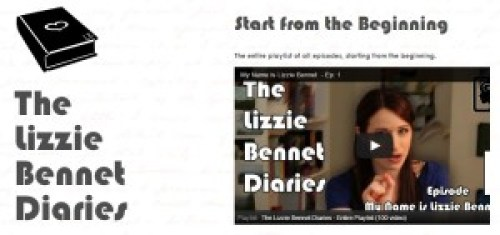 The Lizzie Bennet Diaries ep. 1