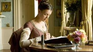 Jane Austen (Olivia Williams)
