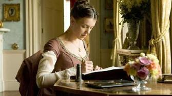 Olivia Williams è Jane Austen in Miss Austen Regrets, BBC 2008