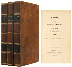 pride and prejudice first edition