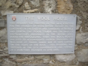 The_Wool_House-plaque