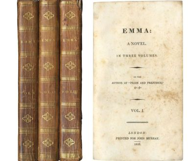 Emma, Jane Austen - first edition