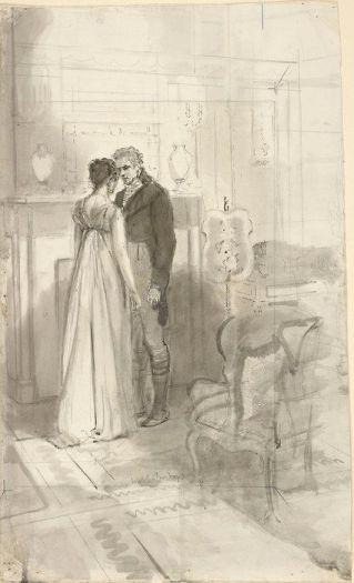 Isabel Bishop, Pride and Prejudice - Jane Bennet and Charles Bignley