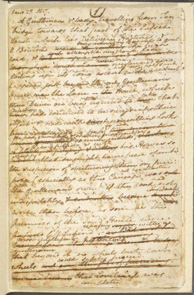 Sanditon manuscript
