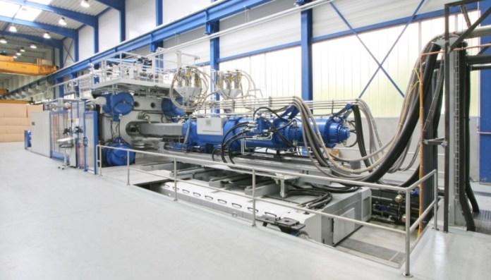 Spritzgussmaschine von Zimmermann: Nach dem MBO machte das Unternehmen seine Anlagen zu Kapital.