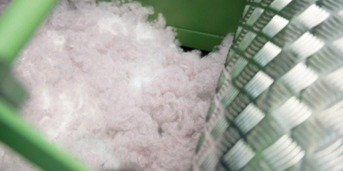 Lose Watte von Ziegler: Kann in verschiedenen Branchen genutzt werden.
