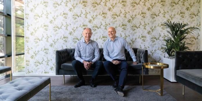 Klaus Eberhardt und Mark Goerke: Die beiden Unternehmer haben Anfang des Jahres 49 Prozent ihrer Anteile über eine Genossenschft an die Mitarbeiter übertragen.